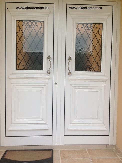 ламинированные пластиковые двери фото